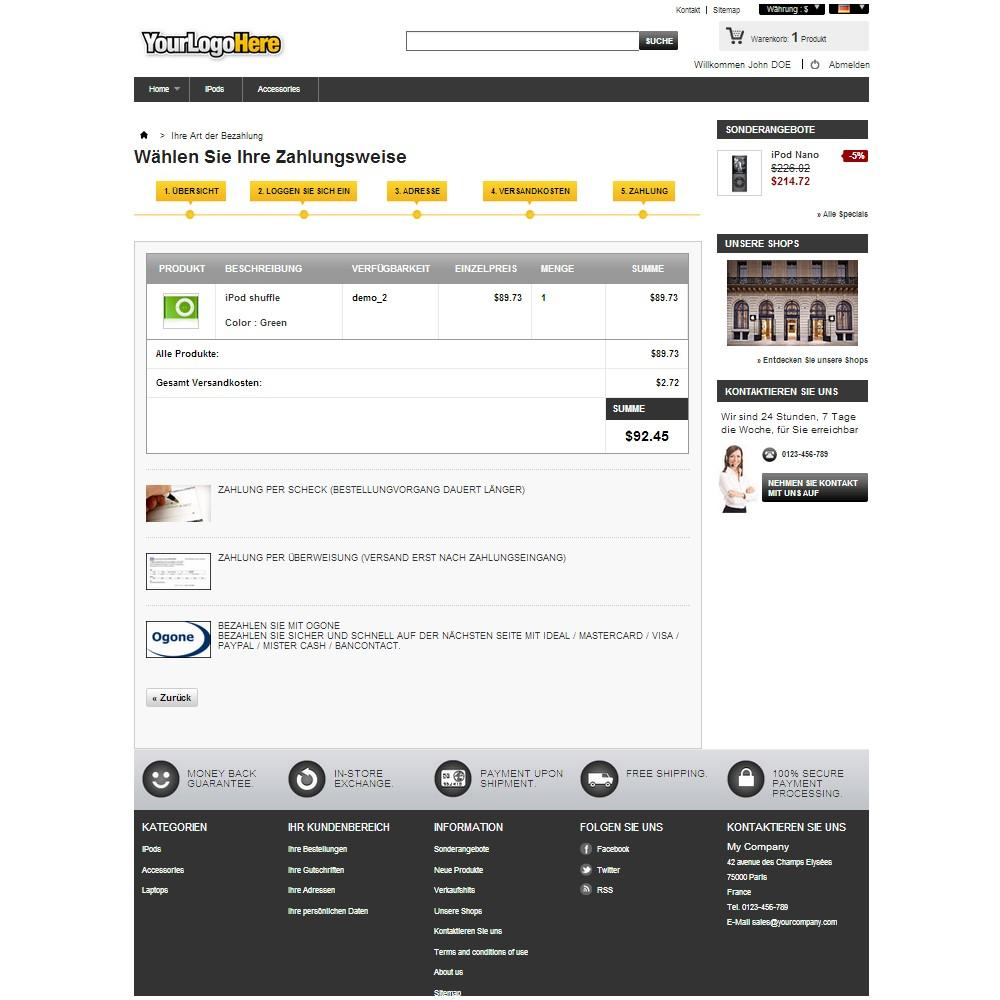 module - Zahlung per Kreditkarte oder Wallet - Ingenico ePayments - 2