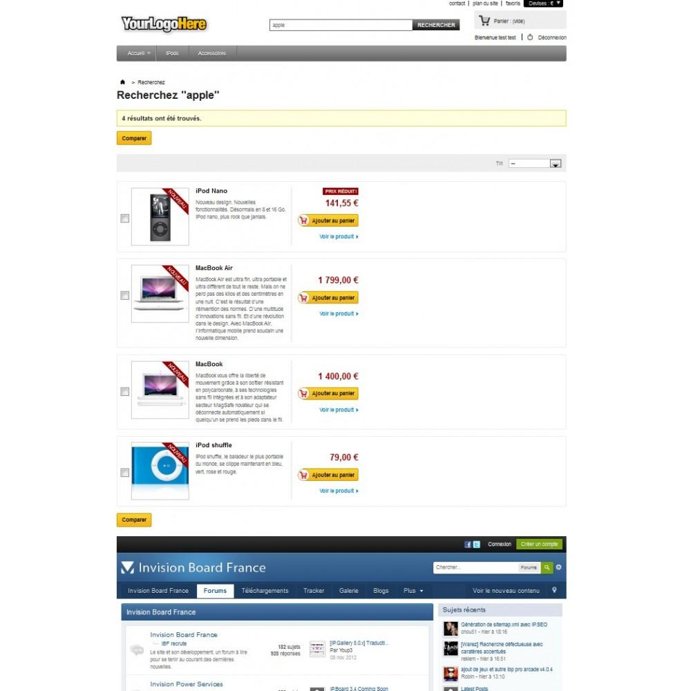 module - Personnalisation de Page - Wrapper / iFrame . Insérez une page web extérieure - 4