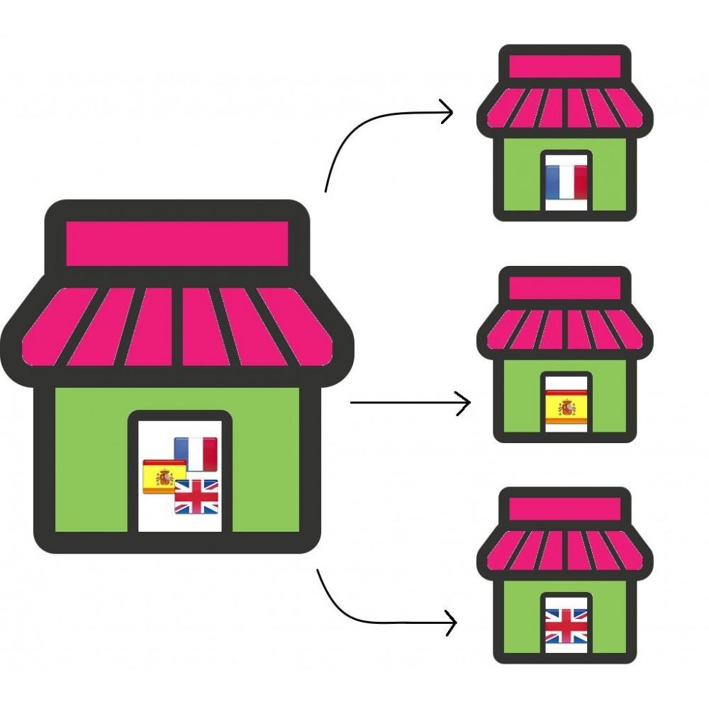 module - SEO (Zoekmachineoptimalisatie - Vermelding) - A language: a shop - 1