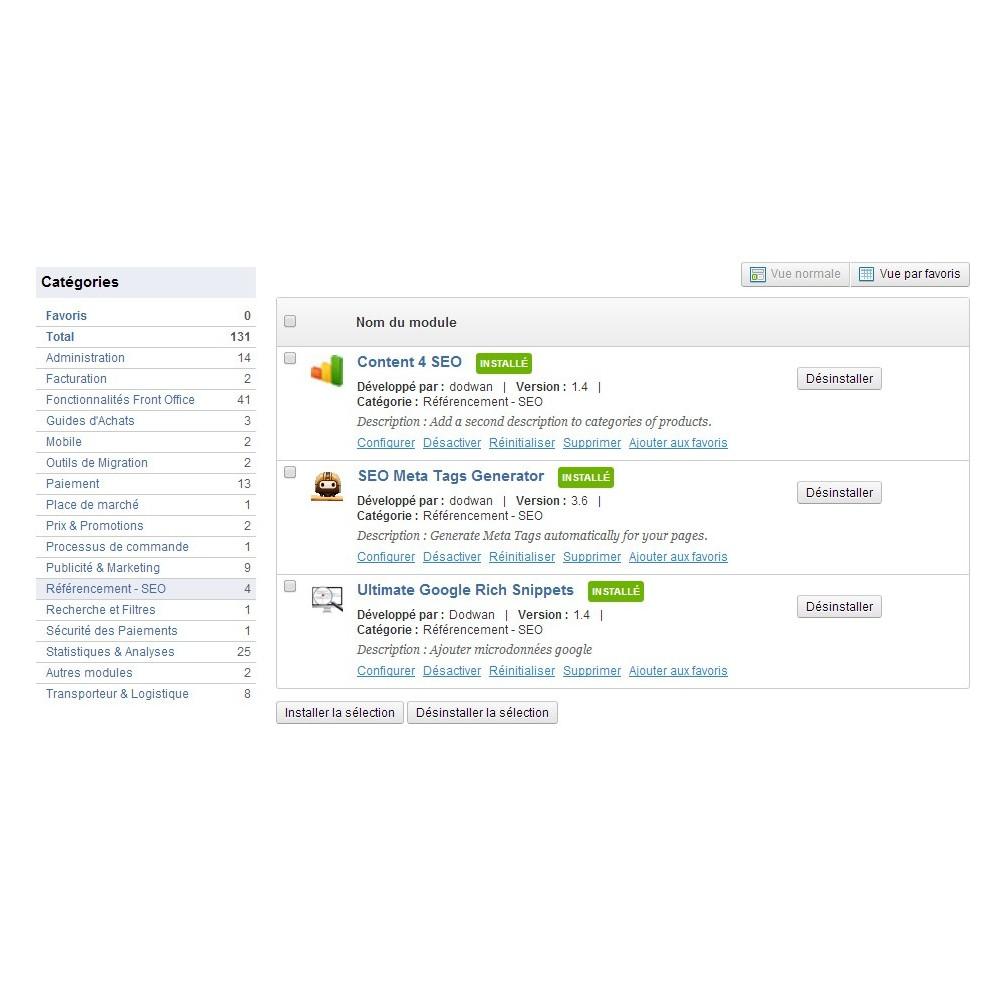module - Естественная поисковая оптимизация - Content 4 SEO - 2