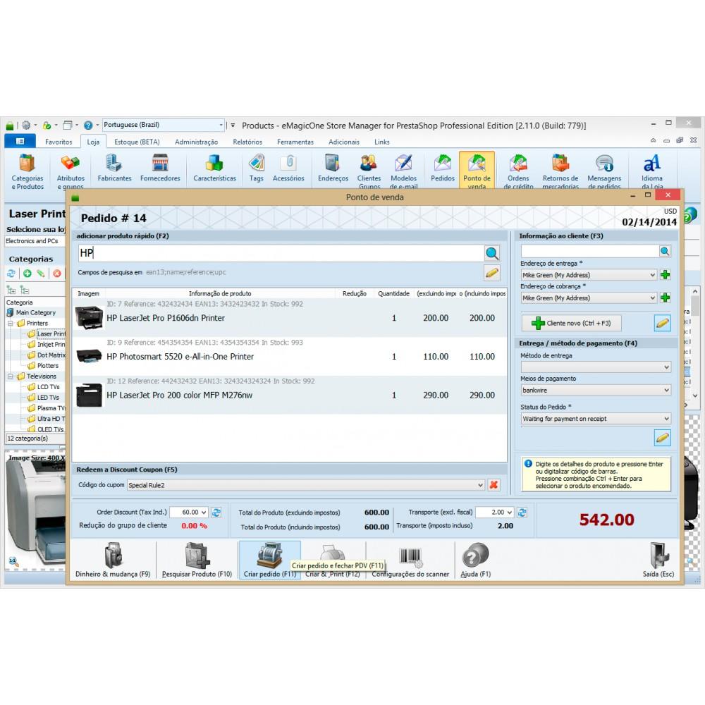 module - Conexão com software de terceiros (CRM, ERP...) - Store Manager for PrestaShop - 3