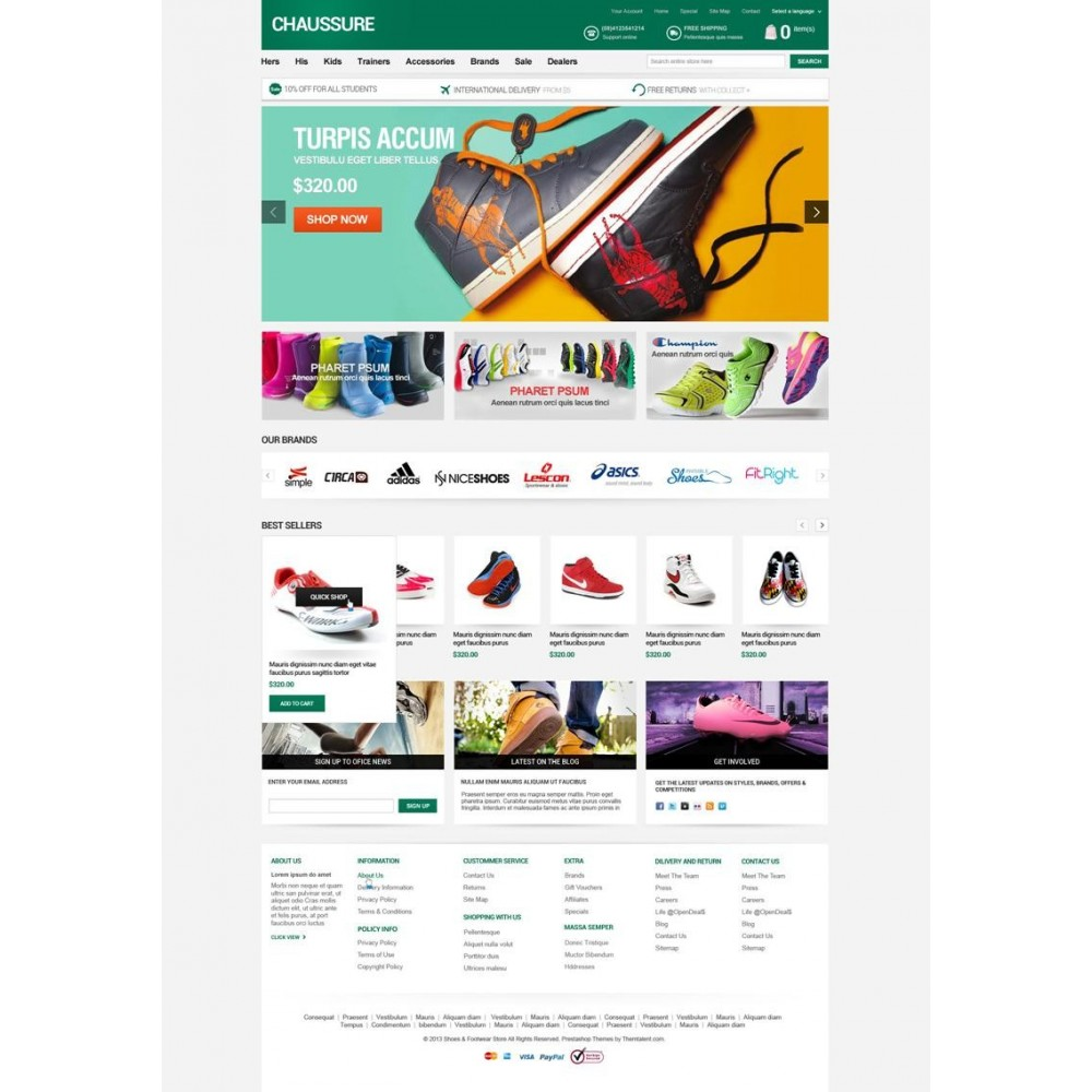 theme - Moda & Calzature - Shoes Store Responsive PrestaShop Theme - ET Chaussure - 4
