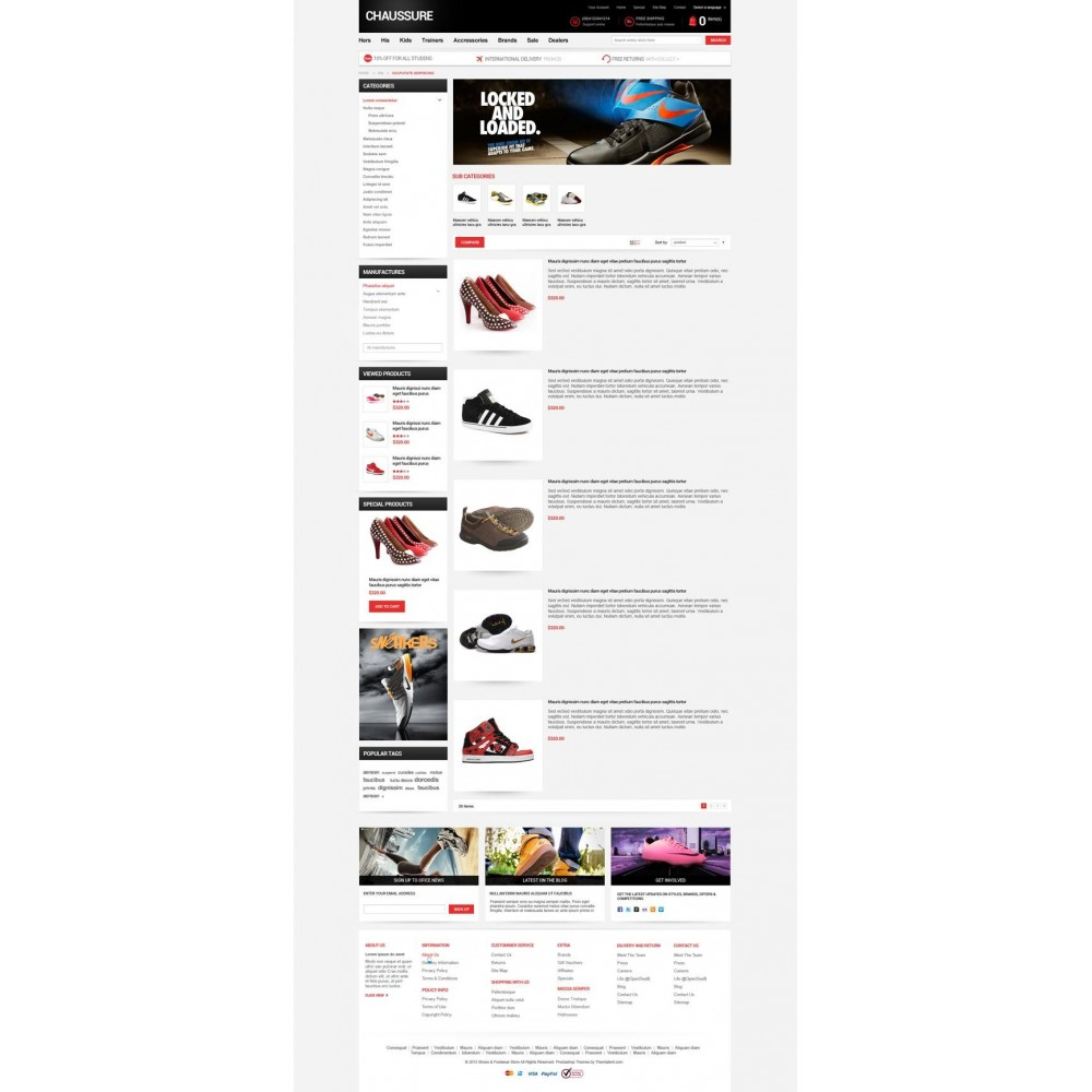 theme - Moda & Calzature - Shoes Store Responsive PrestaShop Theme - ET Chaussure - 7