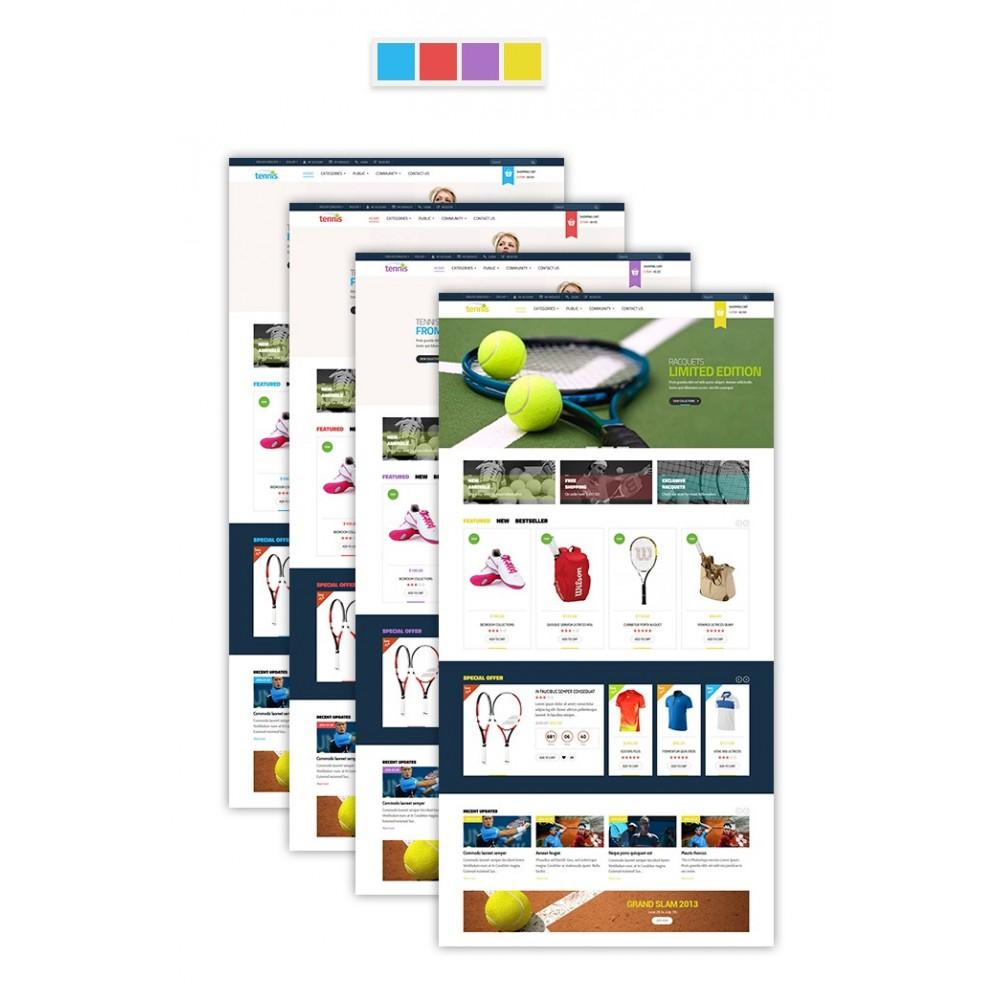 theme - Sports, Activities & Travel - Leo Tennis - 2