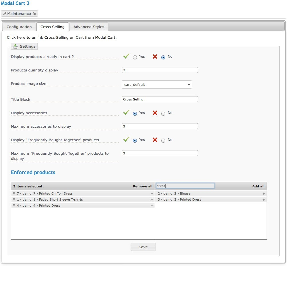 module - Ordering Process - Modal Cart 3 - 11