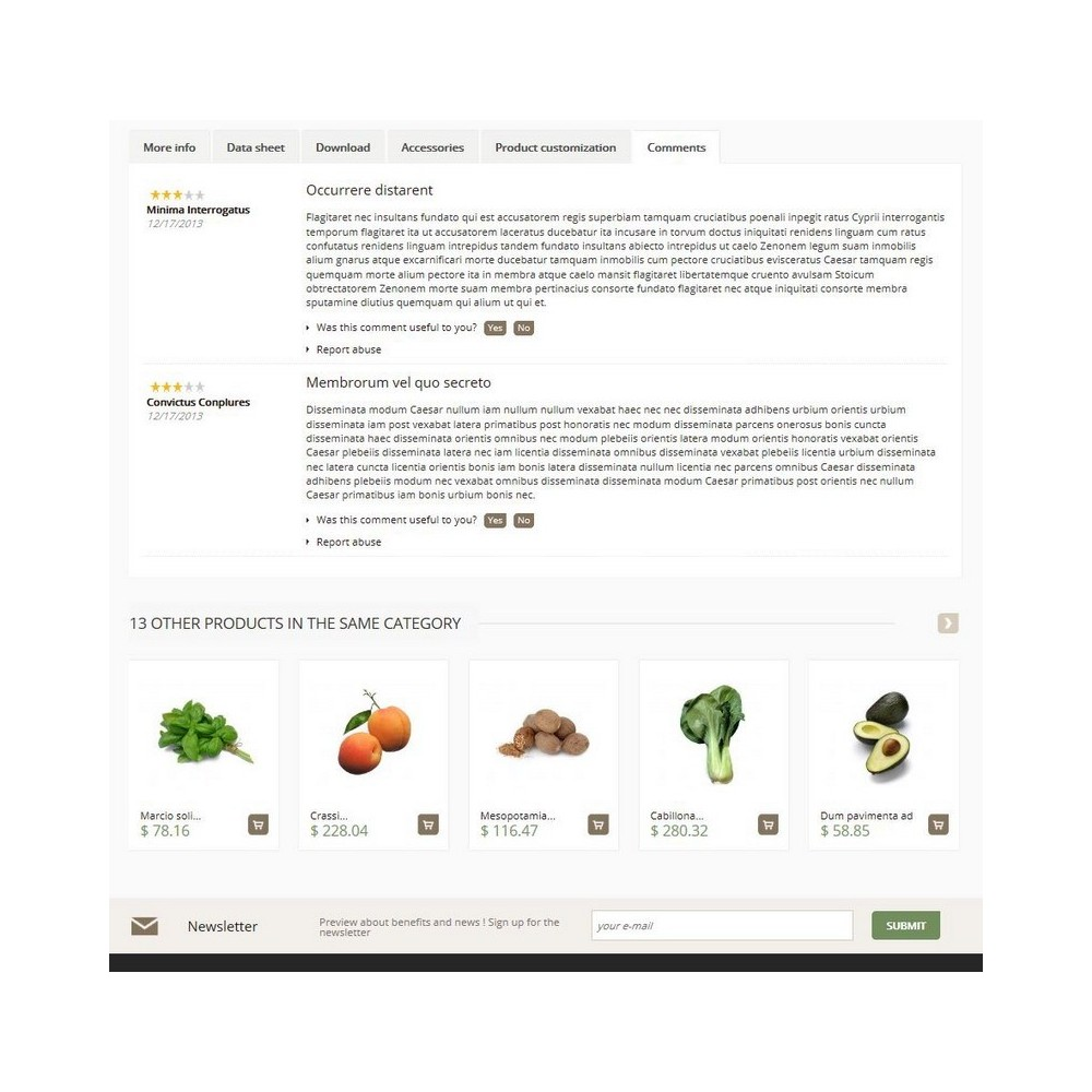 theme - Alimentation & Restauration - Cenata - 4