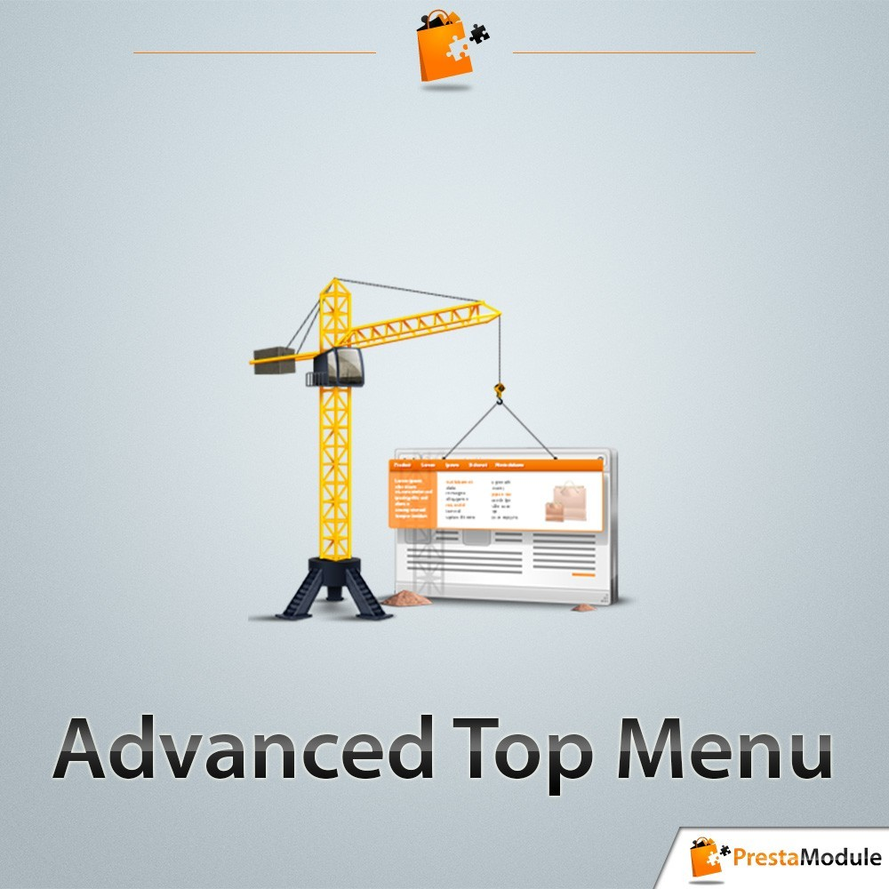 module - Front office features - Advanced Top Menu - 1