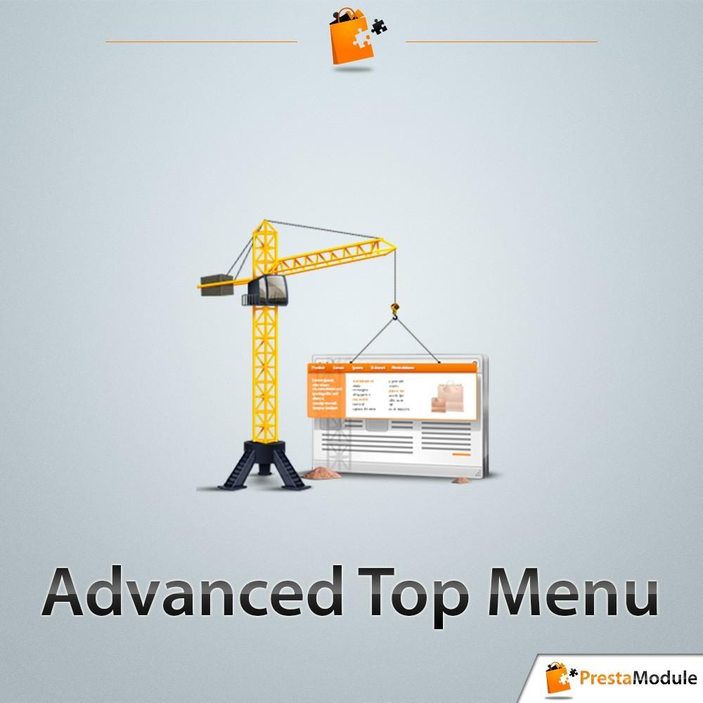 module - Menu - Advanced Top Menu - Responsive - 1