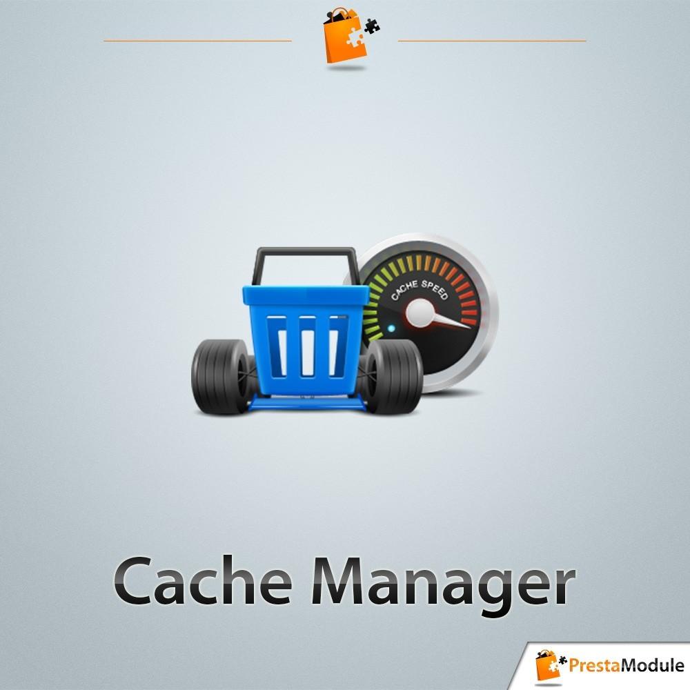 module - Desempenho do Site - Cache Manager - Reduza tempo de carregamento da página - 1