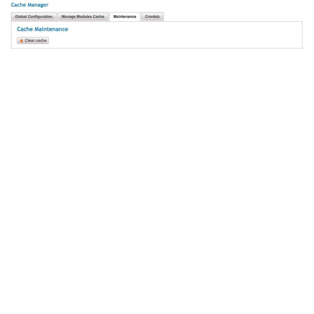 module - Desempenho do Site - Cache Manager - Reduza tempo de carregamento da página - 5