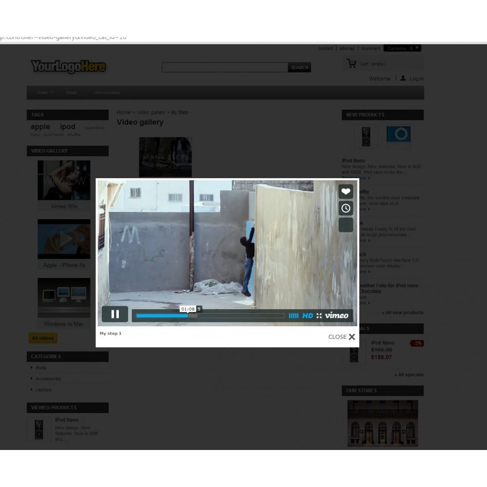module - Vidéo & Musique - Video gallery - 3