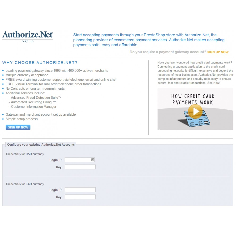 module - Payments & Gateways - Authorize.Net (AIM) - 2