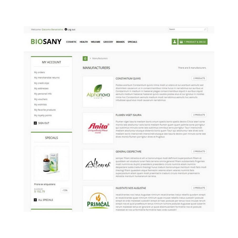theme - Gezondheid & Schoonheid - Biosany - 6