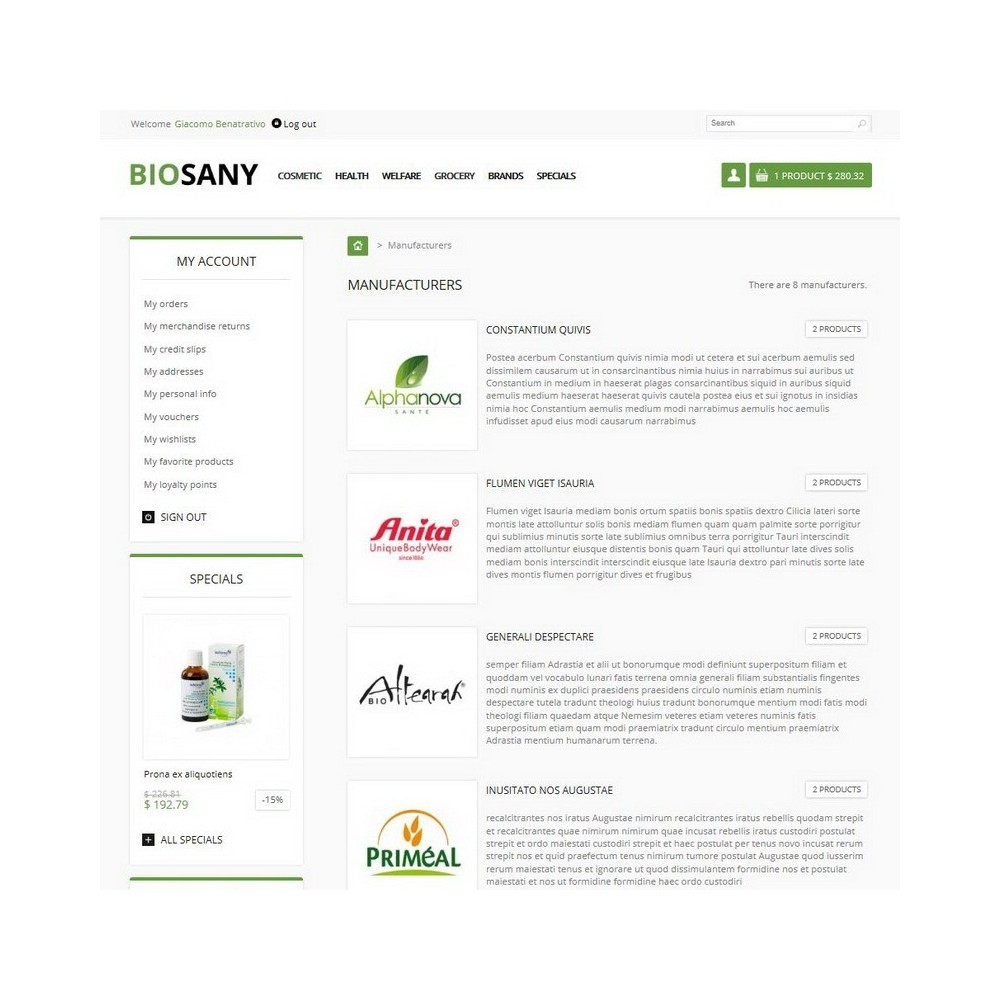 theme - Saúde & Beleza - Biosany - 6