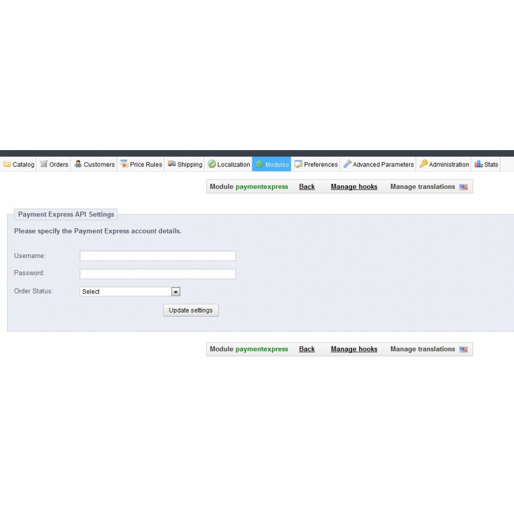 module - Payment by Card or Wallet - Payment Express Payment Gateway - 2