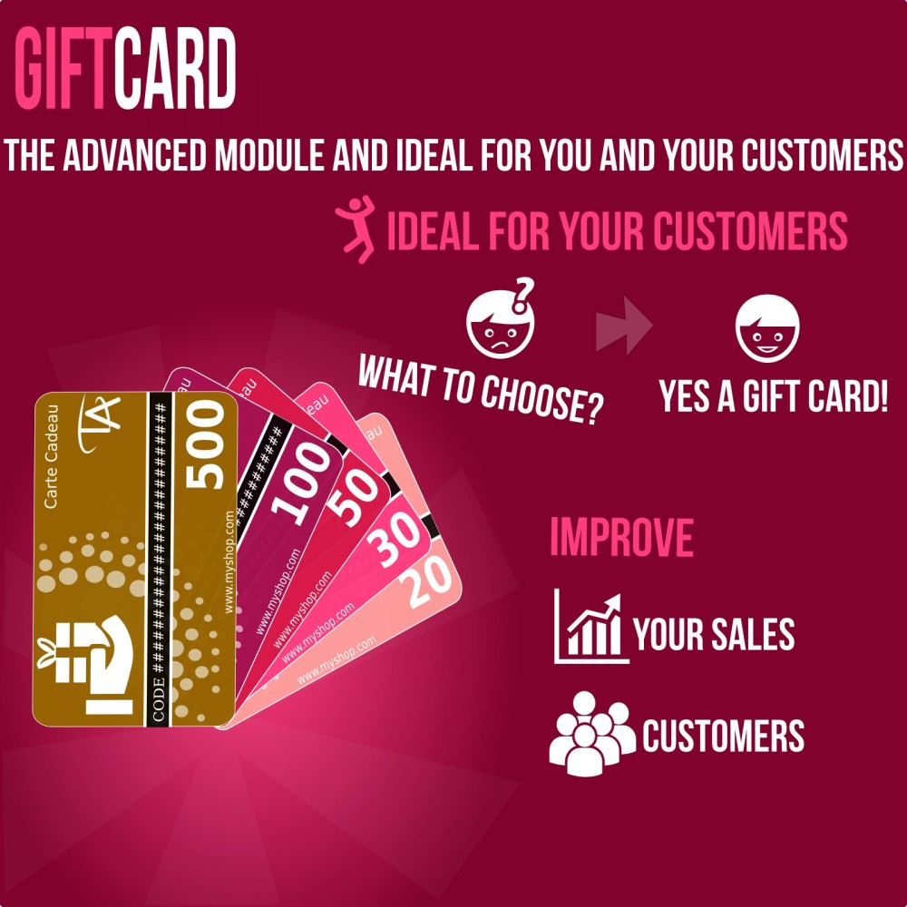 module - Wishlist & Gift Card - Gift Card - Advanced solution - 1