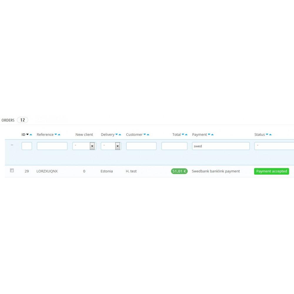 module - Betaling in de Winkel - SwedBank banklink  1.6 - 6