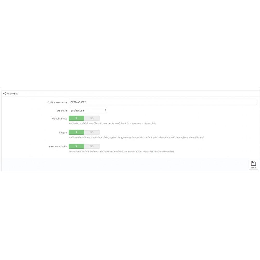 module - Pagamento con Carta di Credito o Wallet - Banca Sella Gestpay Advanced - 3