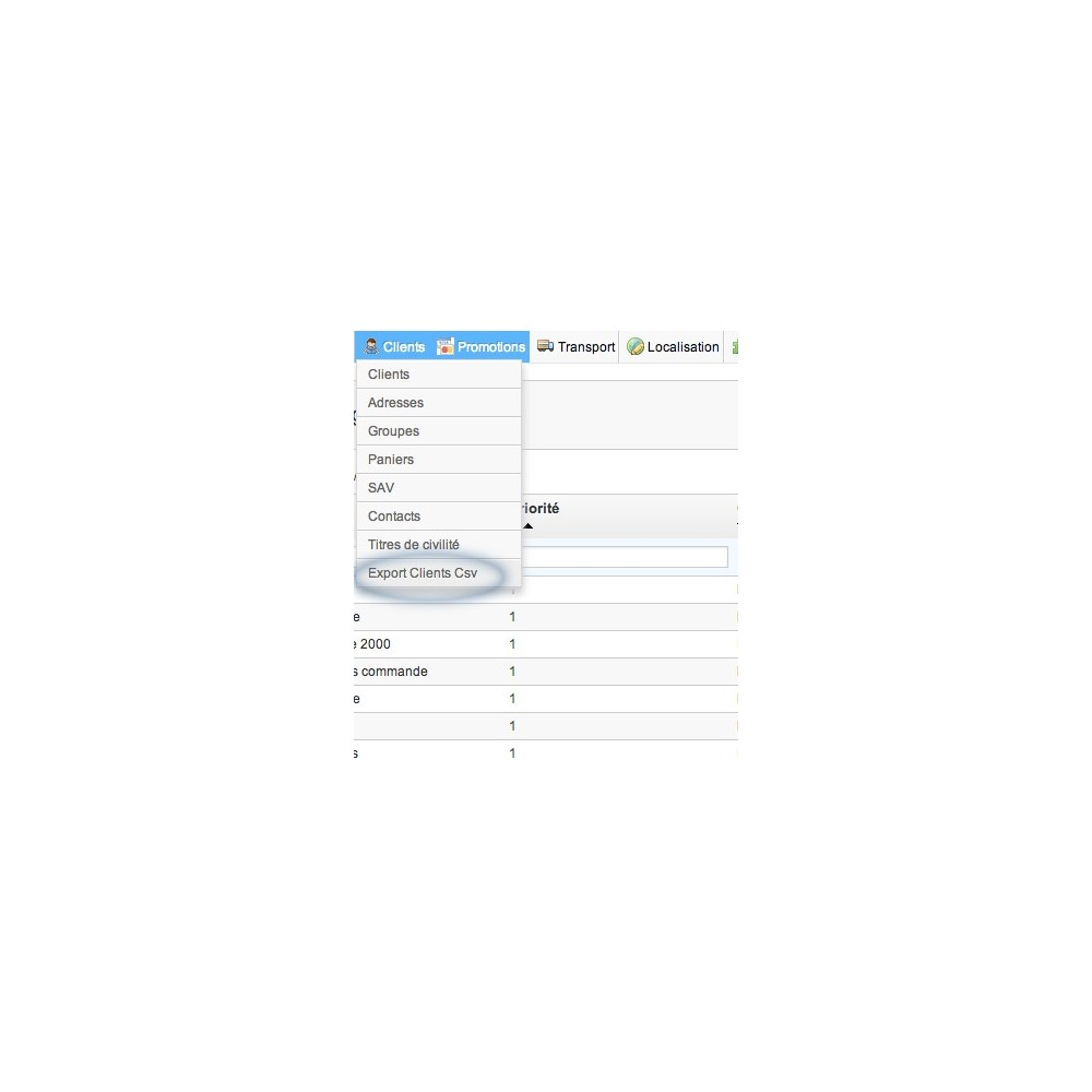module - Data Import & Export - Export Customers 2 CSV - 3