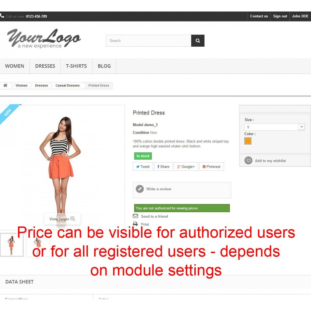 module - Price Management - Price hide Pro - 5
