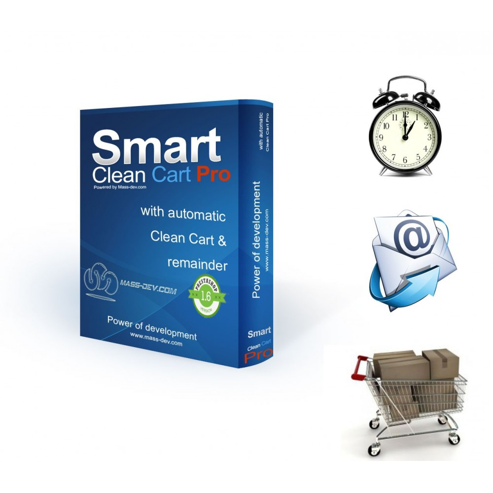 module - Remarketing & Achtergelaten winkelmanden - Smart Clean Cart Pro - 1