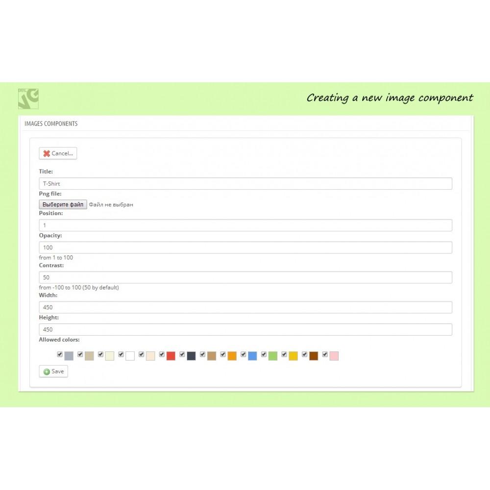 module - Diversificação & Personalização de Produtos - Colorizer - 8