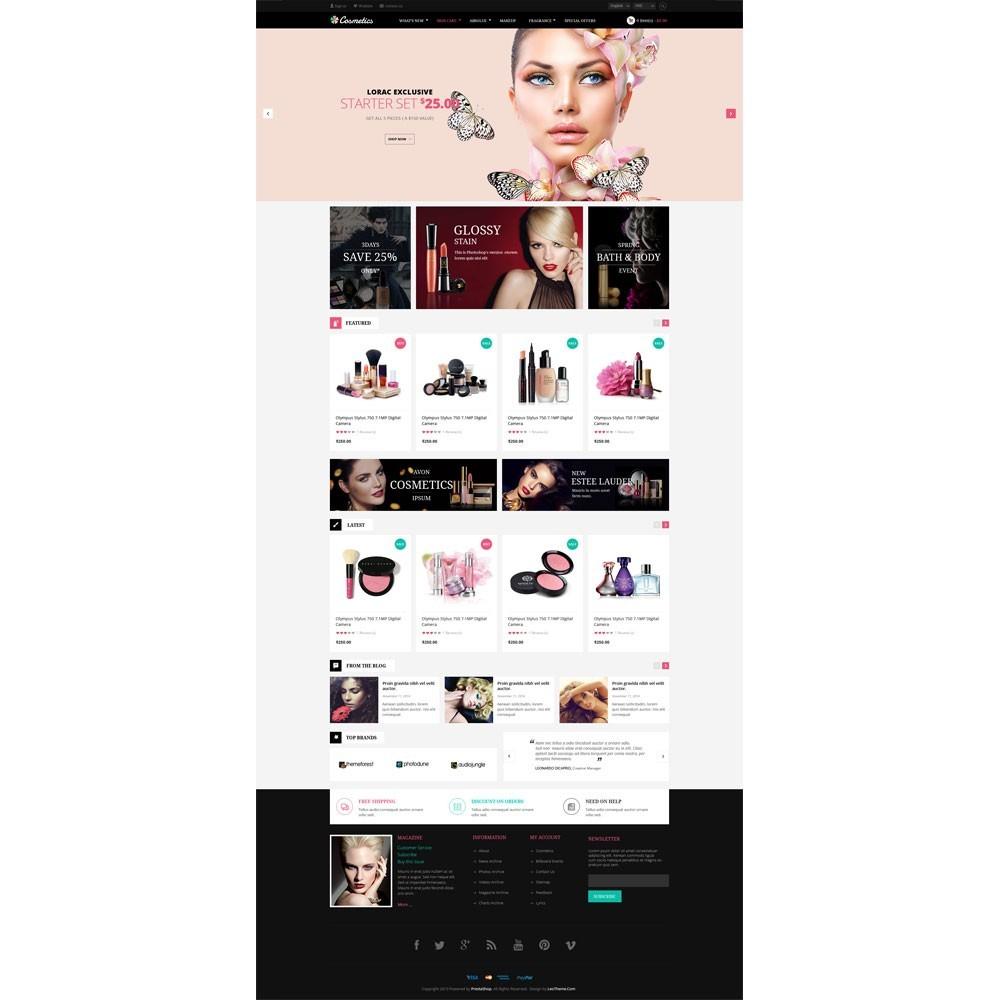 theme - Zdrowie & Uroda - Leo Cosmetics - 2