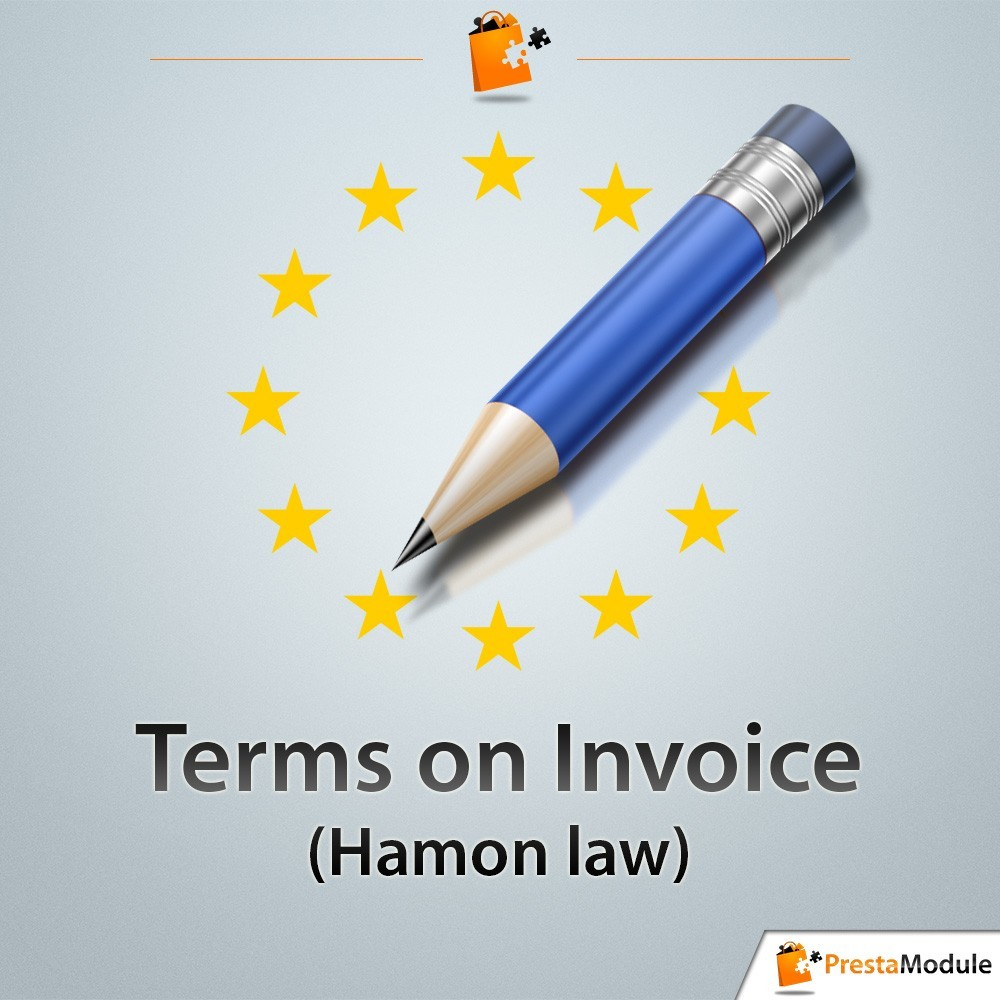 module - Rechtssicherheit - Terms on Invoice - 1