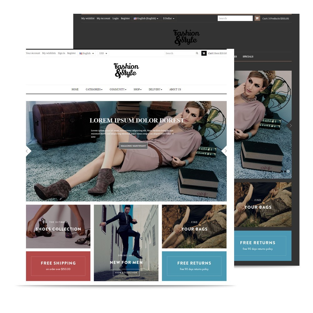 theme - Moda & Calzature - Leo Fashion Store - 2