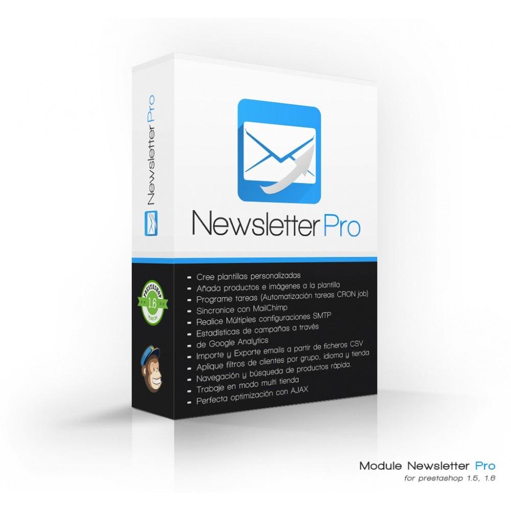 module - Newsletter y SMS - Newsletter Pro - 1