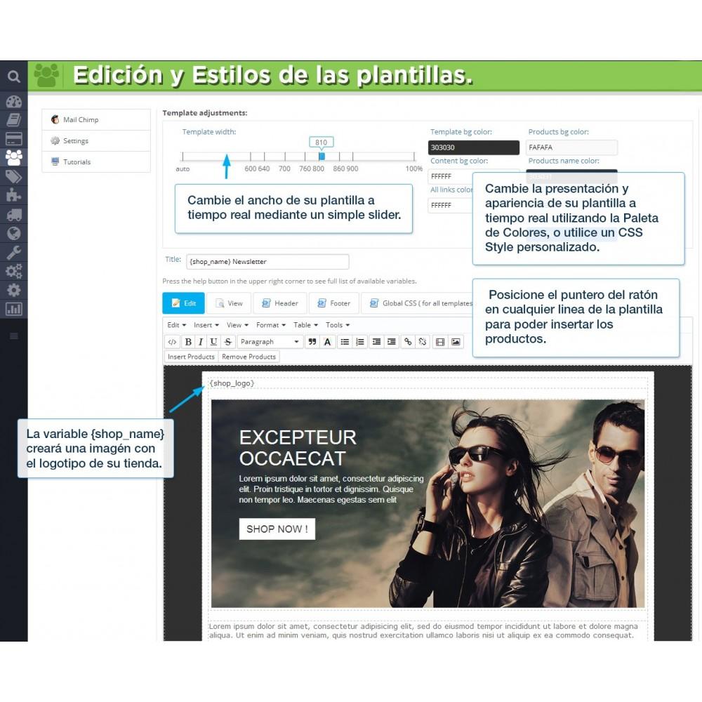 module - Newsletter y SMS - Newsletter Pro - 17