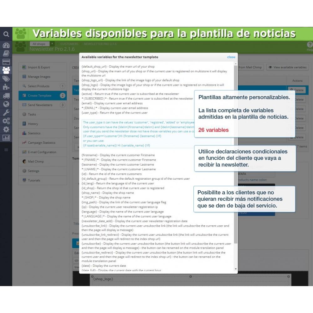 module - Newsletter y SMS - Newsletter Pro - 19