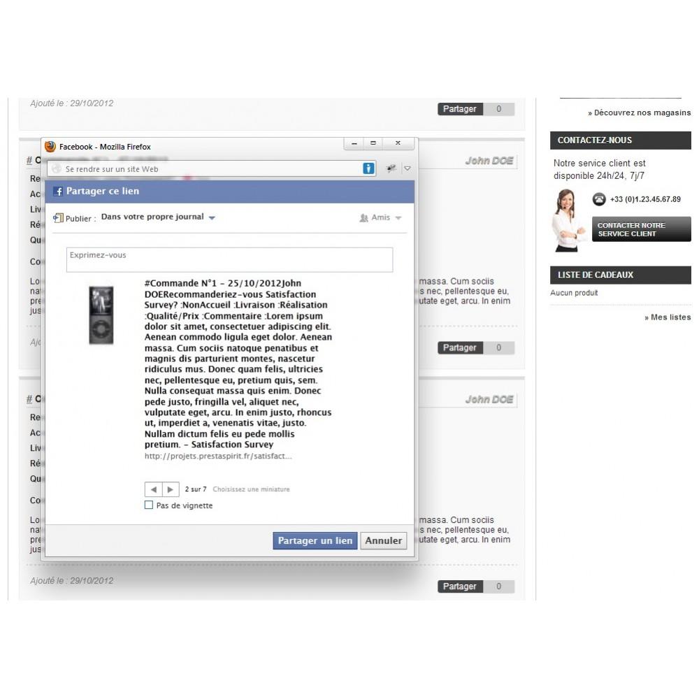 module - Formulaires de Contact & Sondages - Enquête de Satisfaction - 18