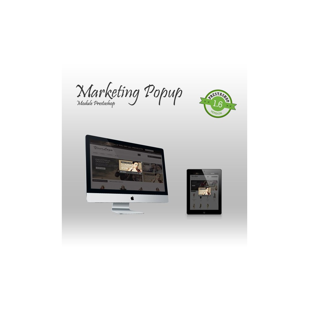 module - Dialoogvensters & Pop-ups - Marketing Popup - 1