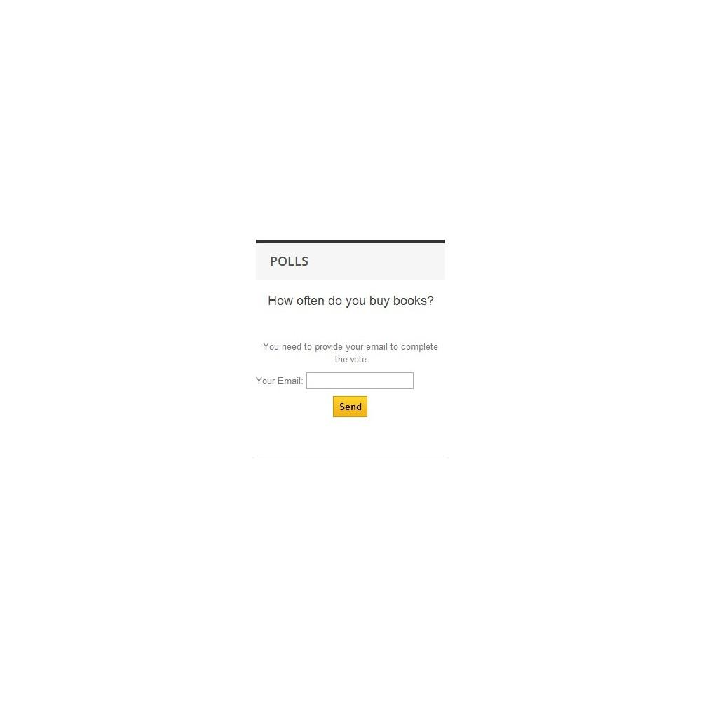 module - Form di contatto & Questionari - Poll Pro - 9