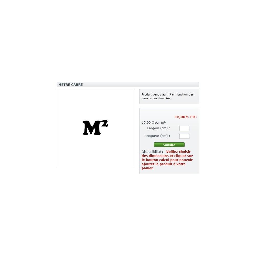 module - Tailles & Dimensions - Produits multi dimensionnels - 2