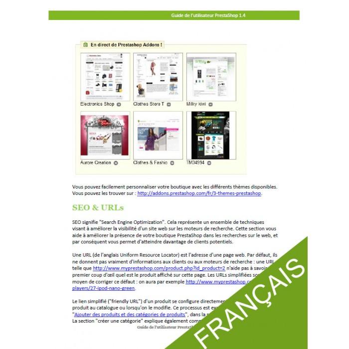 other - Guide utilisateur PrestaShop - Guide utilisateur PrestaShop 1.4 - 3