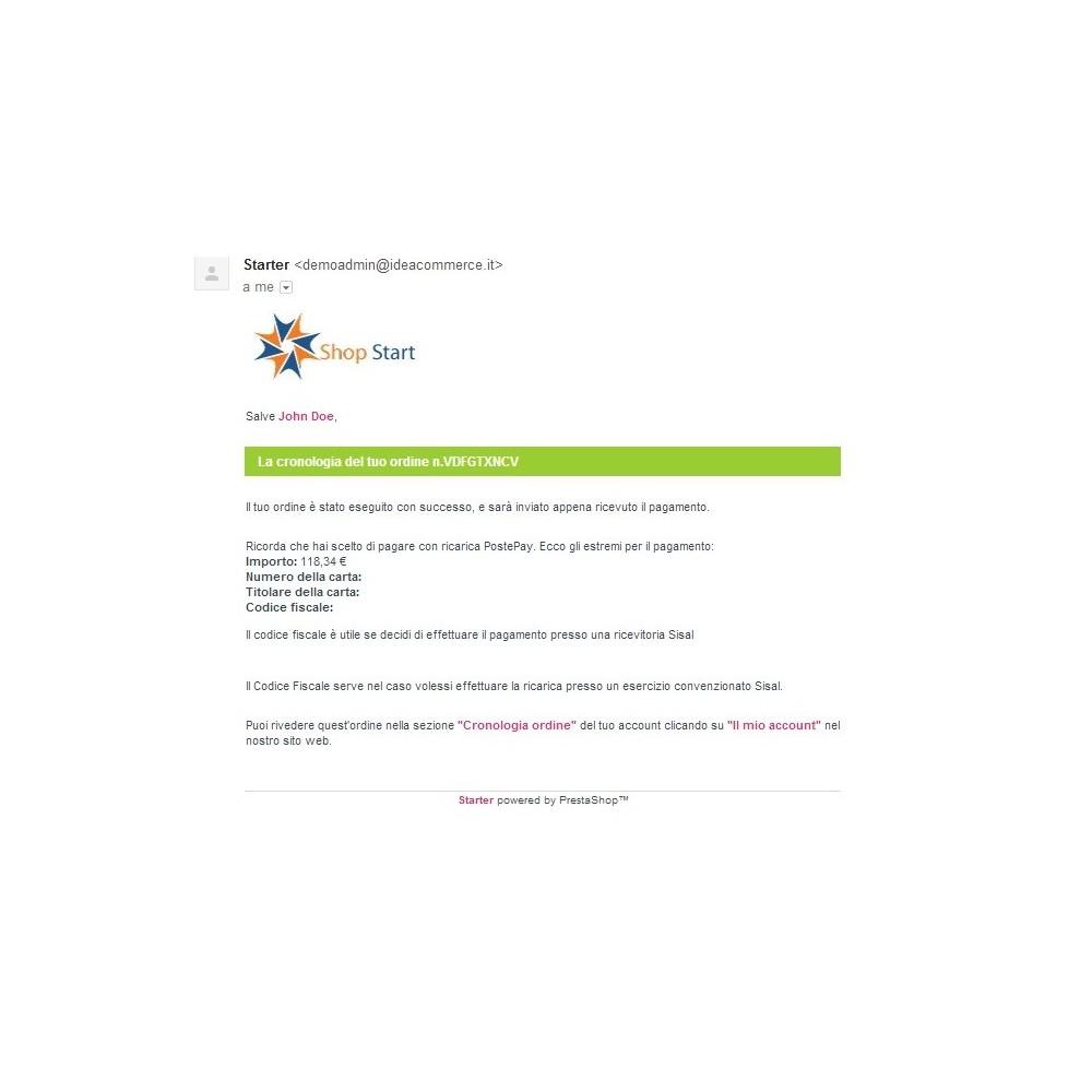 module - Pagamento antecipado - PostePay Module - 10
