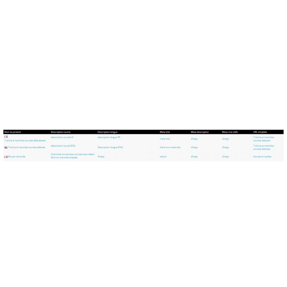 module - Edition rapide & Edition de masse - Fastmanager - administration en masse de vos produits - 43