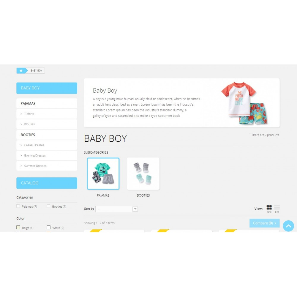 theme - Crianças & Brinquedos - Baby Market 1.6 Responsive - 4