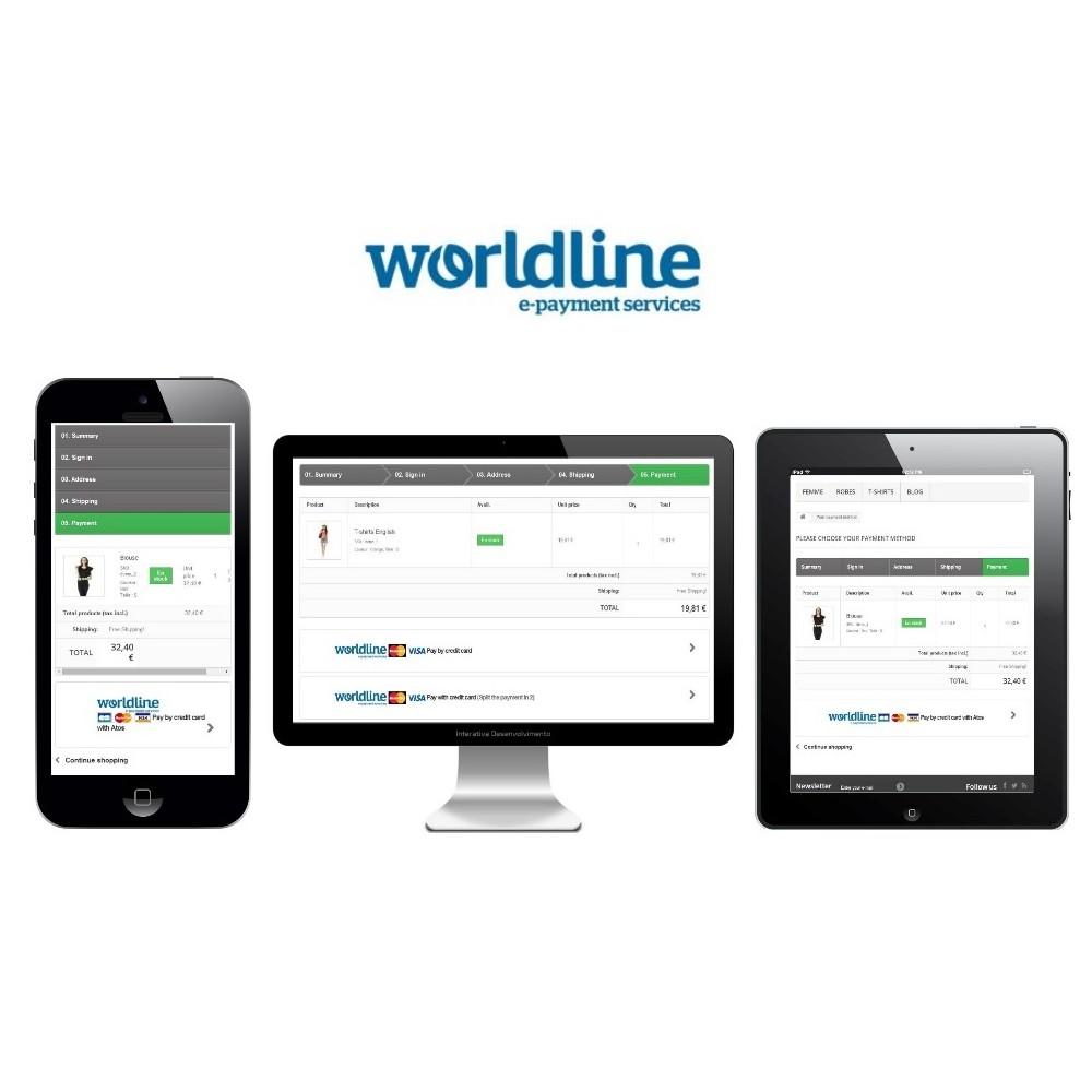 module - Pago con Tarjeta o Carteras digitales - Sips 2.0 - Atos Worldline (1.5, 1.6 & 1.7) - 3