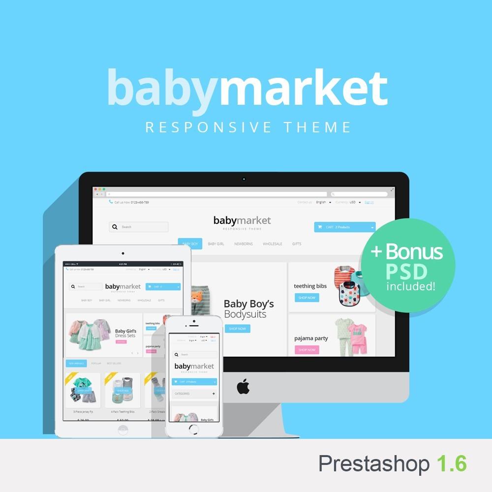 theme - Kids & Toys - Baby Market 1.6 Responsive - 1