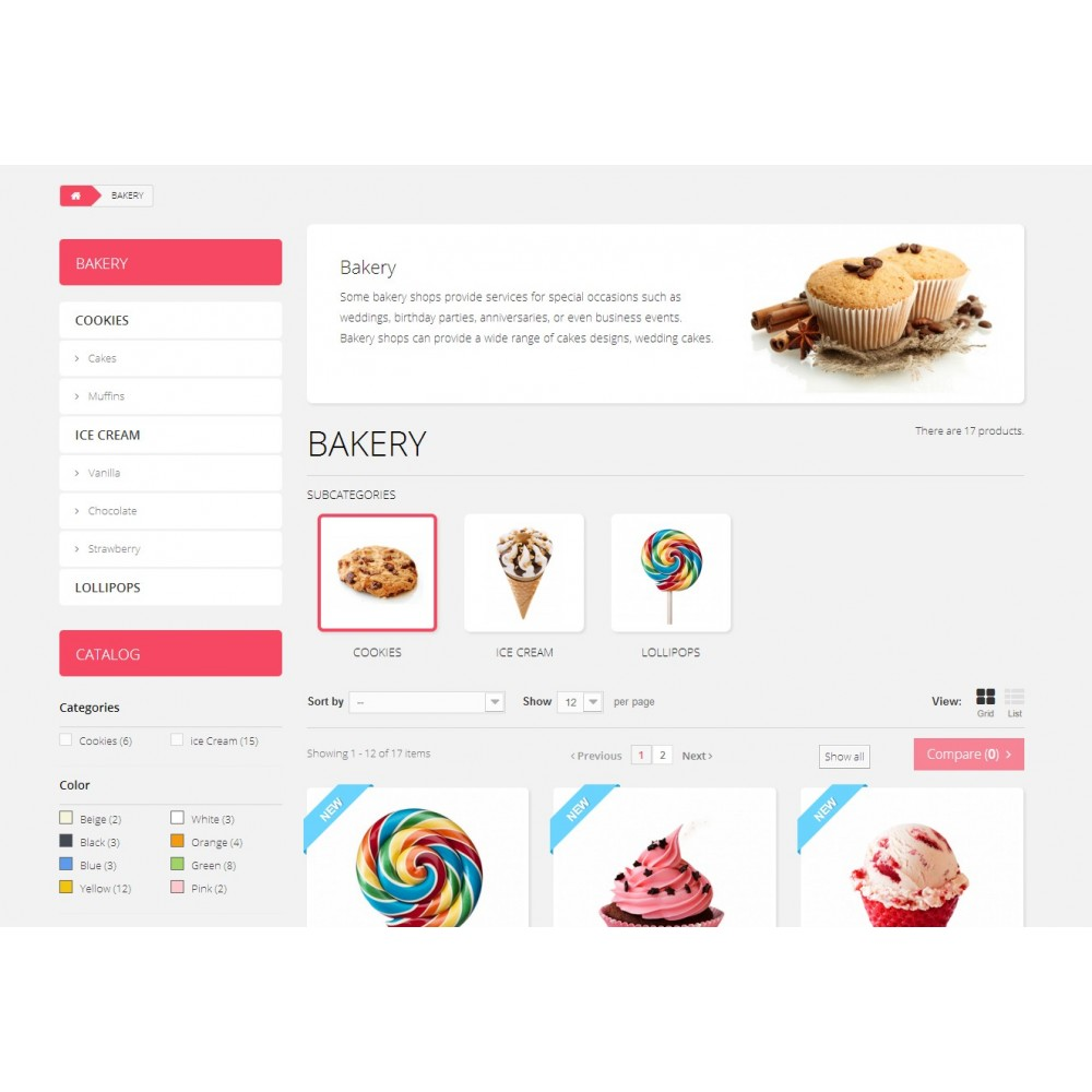 theme - Lebensmittel & Restaurants - Sweett 1.6 Responsive - 4