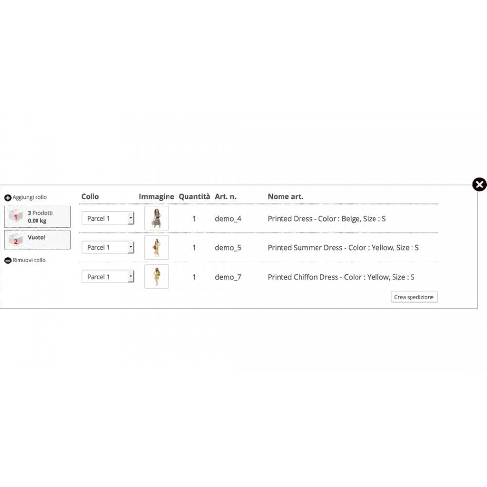 module - Corrieri - DHL eLogistics by boxdrop® - 2