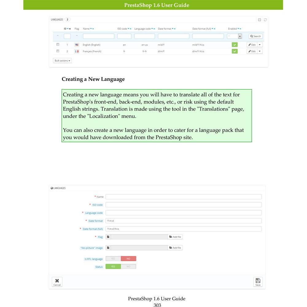 other - Gebruiksaanwijzing - PrestaShop 1.6 User Guide - 2