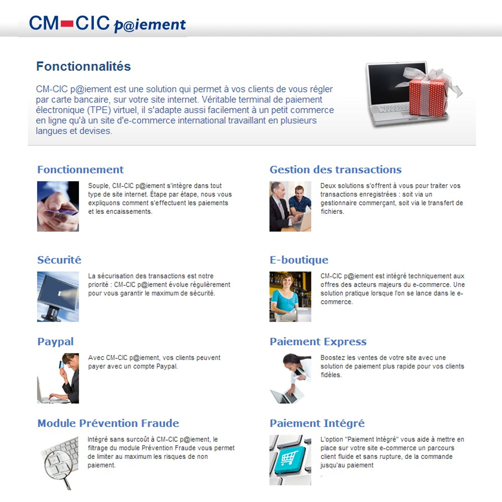 module - Payment by Card or Wallet - CM-CIC / Monetico Payment - 3