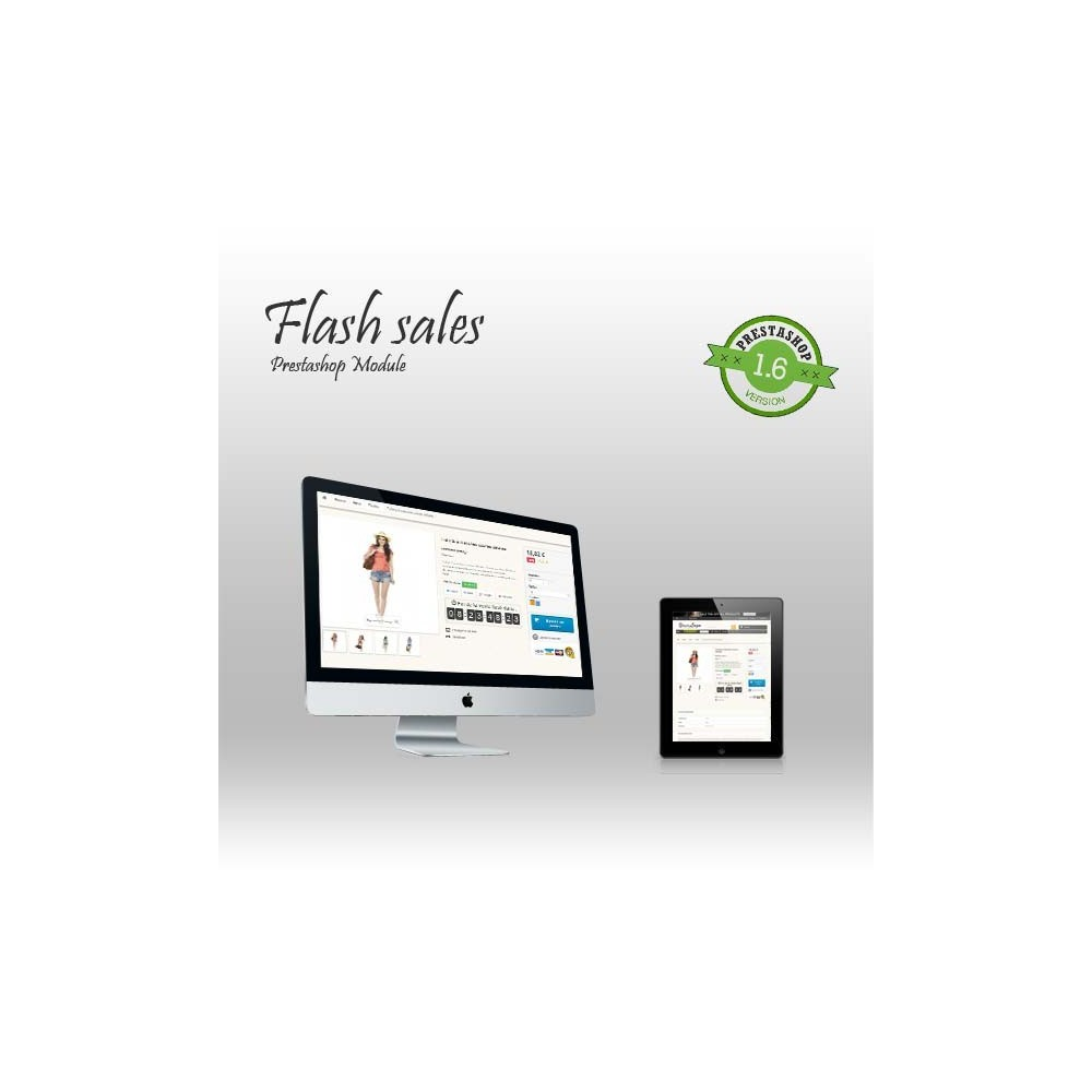module - Ventas Privadas y Ventas Flash - Flash sales - 1
