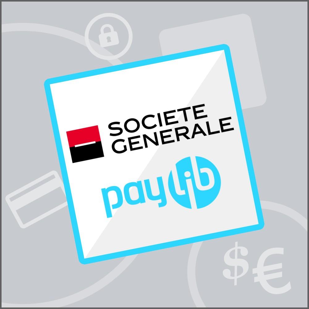 module - Paiement par Carte ou Wallet - Sogenactif 1.0 - Société Générale Atos Sips Worldline - 1