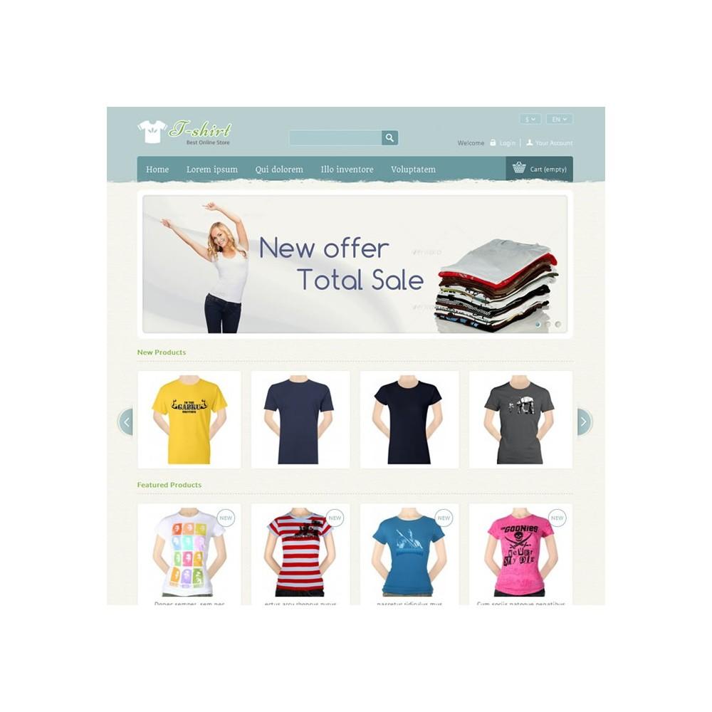theme - Moda & Calçados - T-shirt Prestashop Theme - PRS040081 - 2