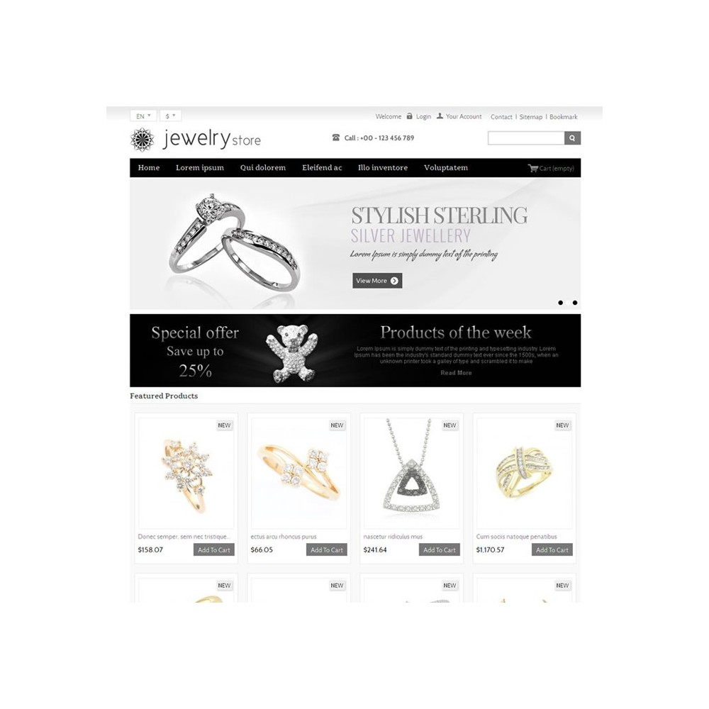 theme - Bellezza & Gioielli - Best Jewelry Online Store - 2